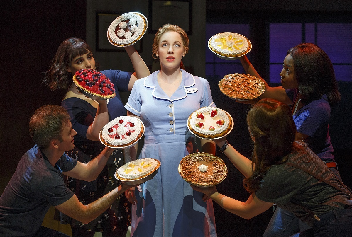 """Waitress,"" a Broadway hit adapted from a low-budget 2007 film shown here in its Broadway version, comes to Shea's in February 2018."