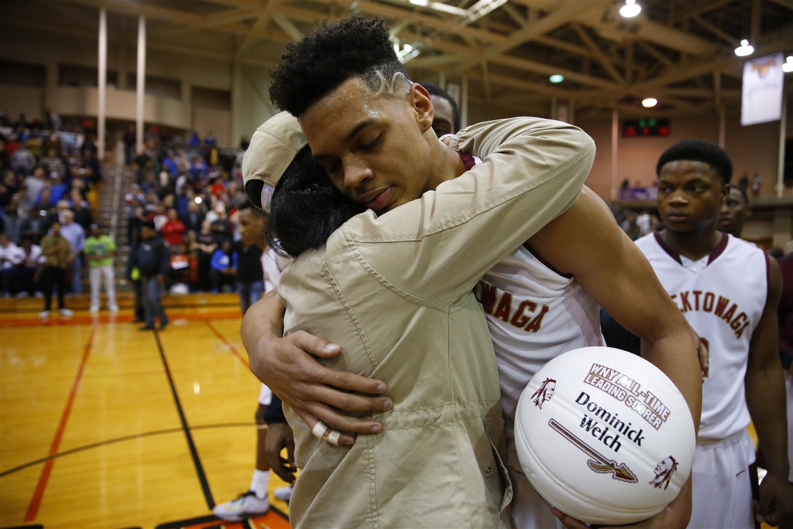 Cheektowaga's Dominick Welch has been named a first-team All-New York State player. (Harry Scull Jr./Buffalo News)