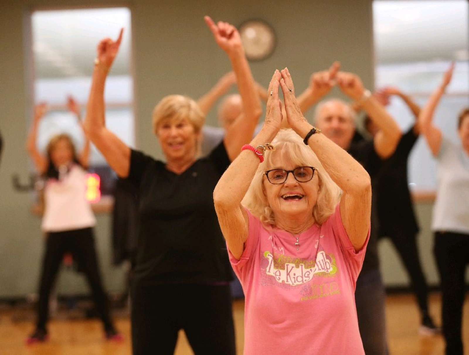 Those looking to keep fit have chances at exercise classes across the region, including Zumba Gold at the Independent Health Family Branch YMCA in Amherst. (Sharon Cantillon/News file photo)