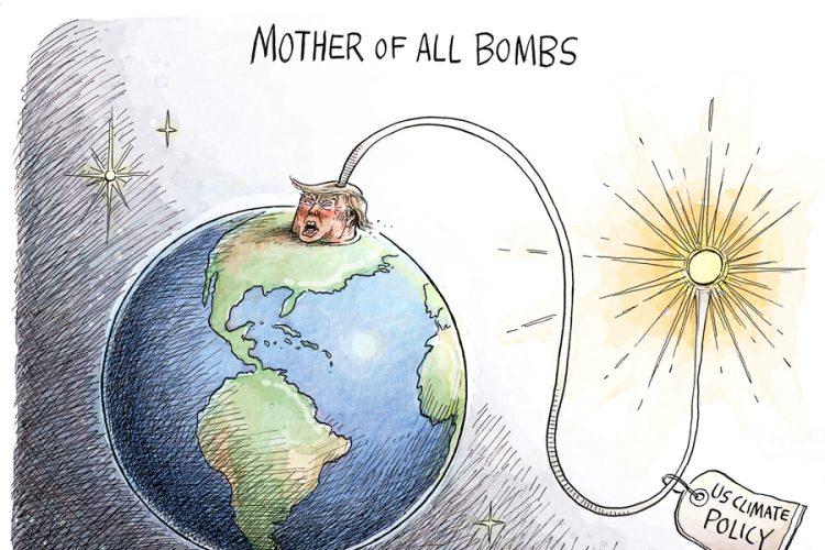 Adam Zyglis: Earth Day