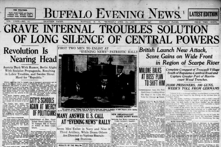 Front page, April 23, 1917: 'City's schools again at mercy of politicians'