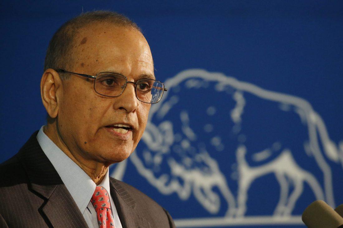 UB President Satish K. Tripathi (Buffalo News)