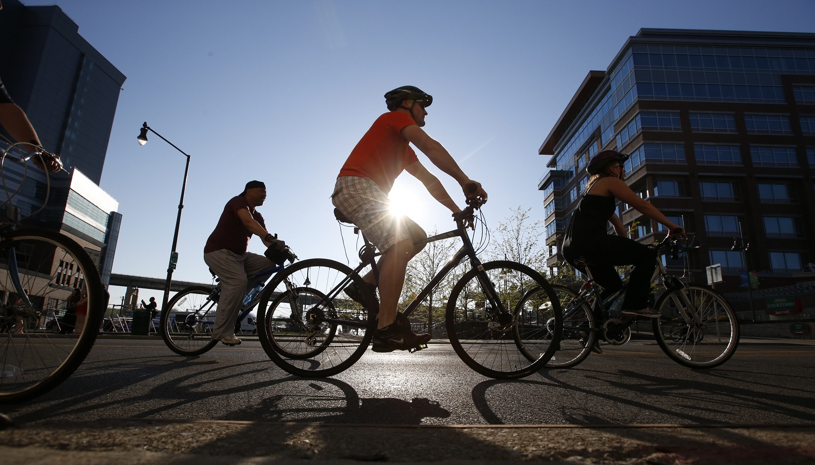 Slow Roll Buffalo starts and ends Monday evening at the Buffalo Maritime Center, 90 Arthur St.. (Harry Scull Jr./Buffalo News file photo)