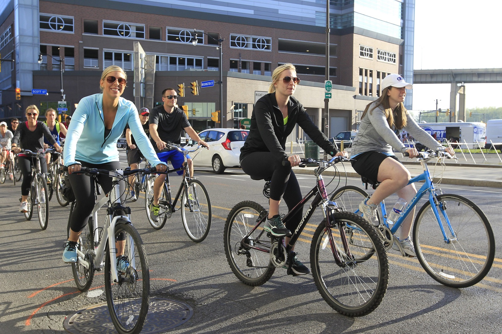 Slow Roll Buffalo will lead bike rides in the city and Clarence this week. (Harry Scull Jr./Buffalo News file photo)