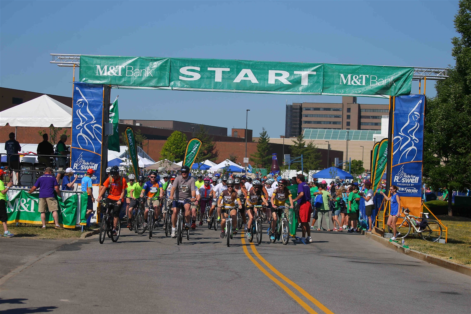 The Ride for Roswell has expanded to offer 11 different ride options. (John Hickey/Buffalo News file photo)