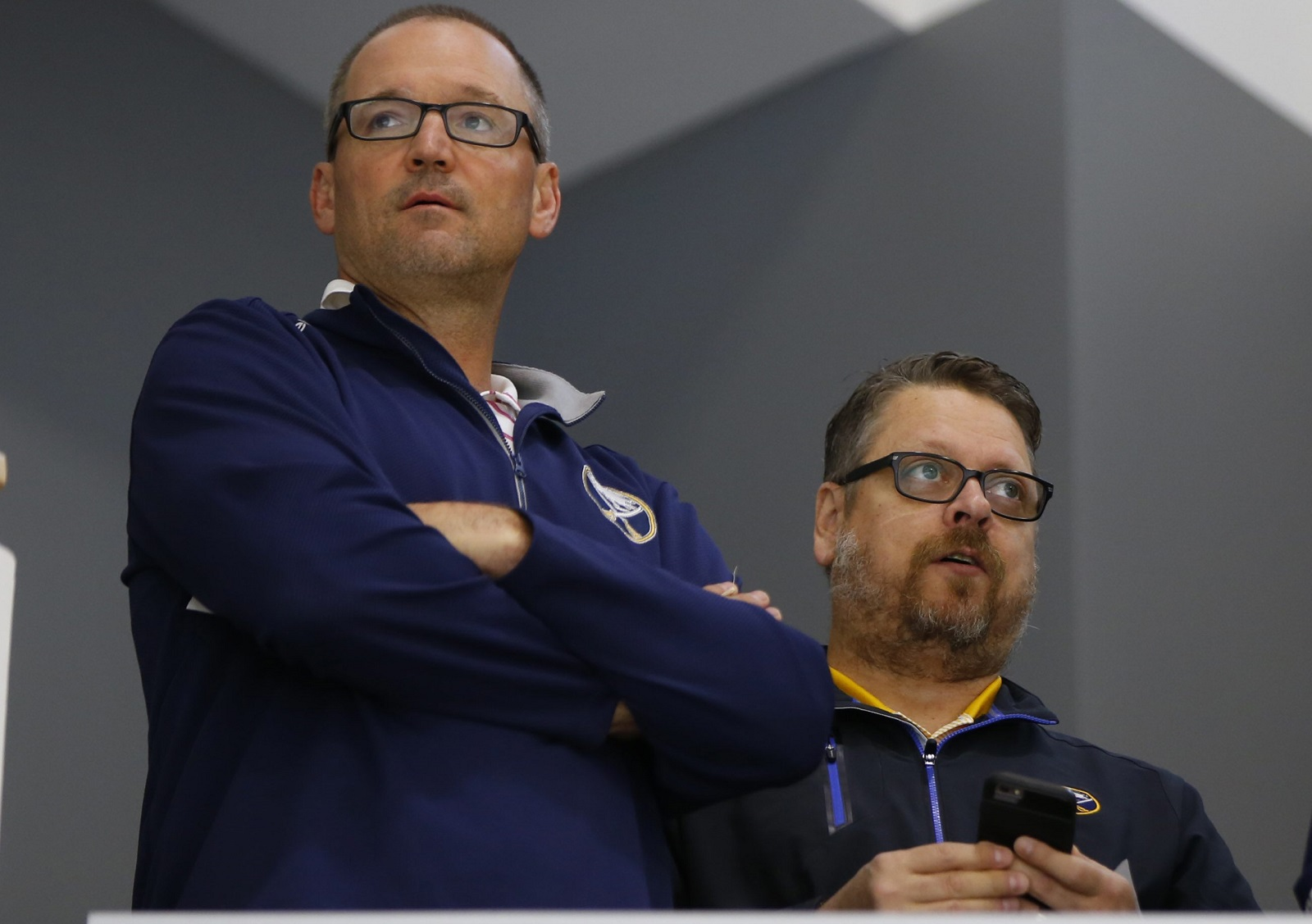 Both Sabres general manager Tim Murray and head coach Dan Bylsma were fired on Thursday.(Harry Scull Jr./Buffalo News file photo)