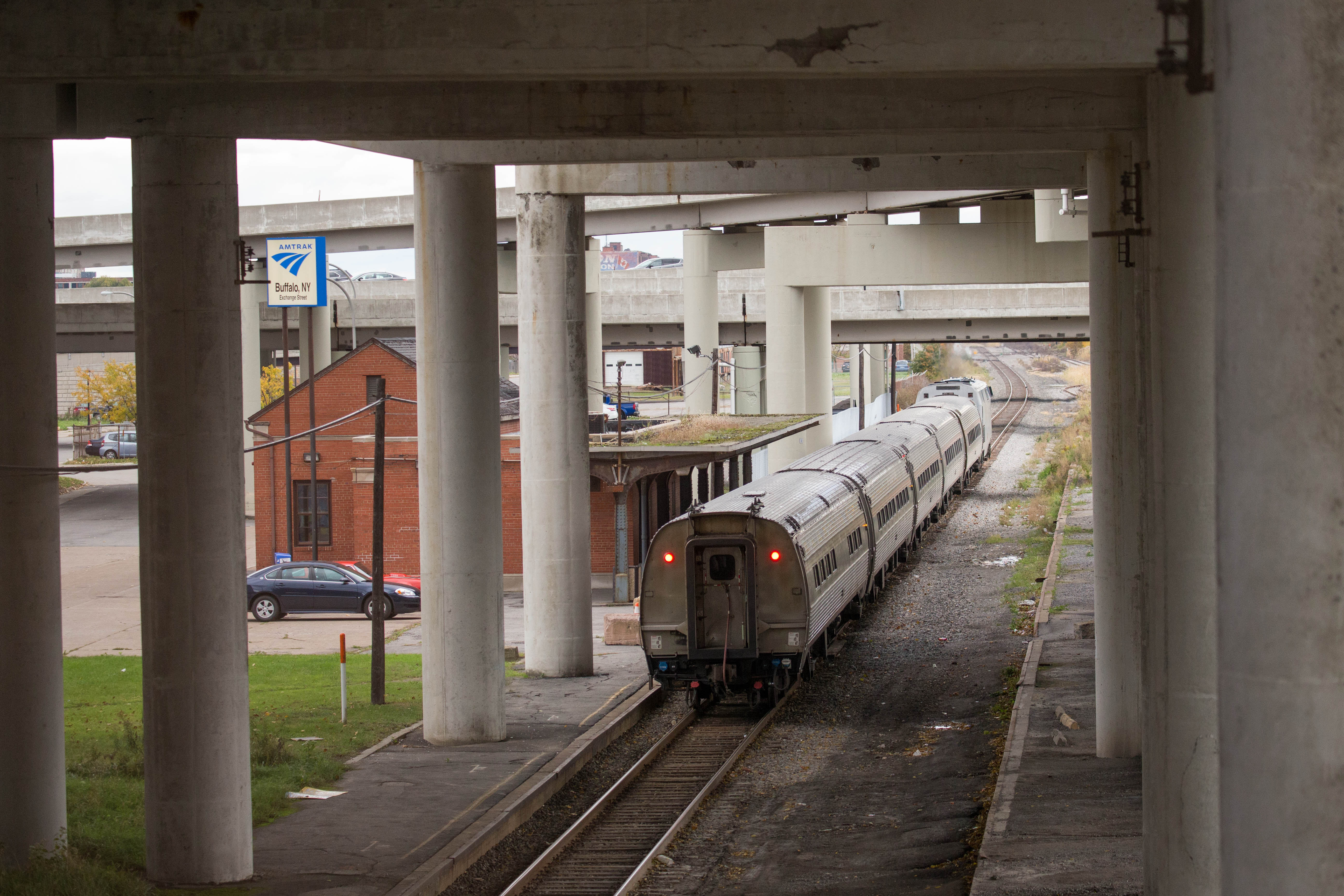 The Amtrak Station on Exchange Street in Buffalo.  (Derek Gee/News file photo)