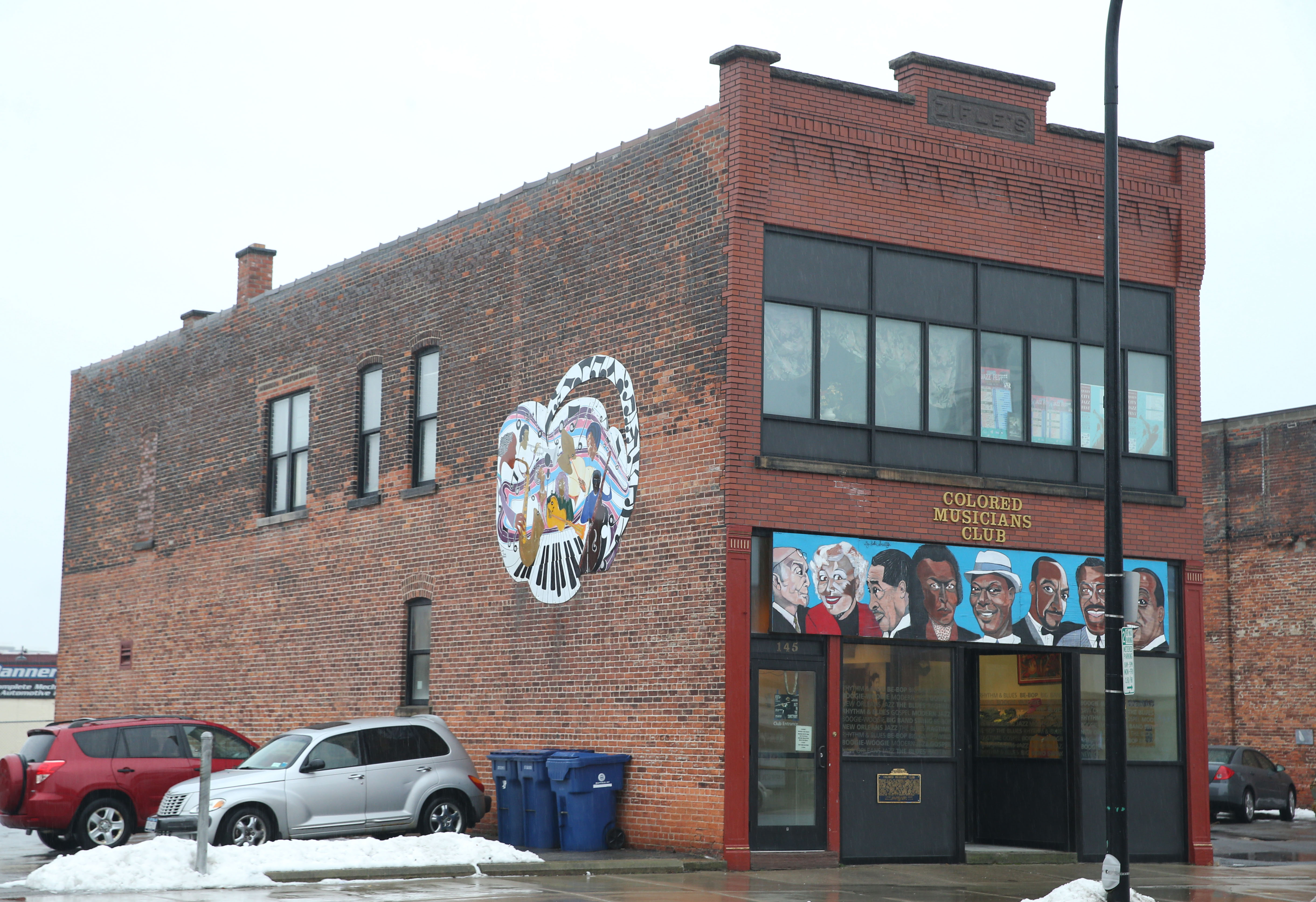 The Colored Musicians Club plans an expansion to add an elevator and stairwell.  (Sharon Cantillon/Buffalo News)