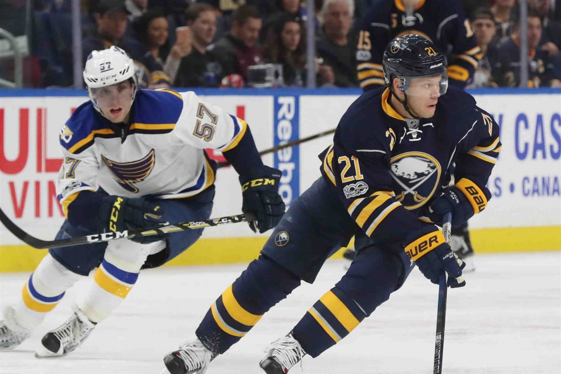 Report: Sabres' Okposo Released From Hospital
