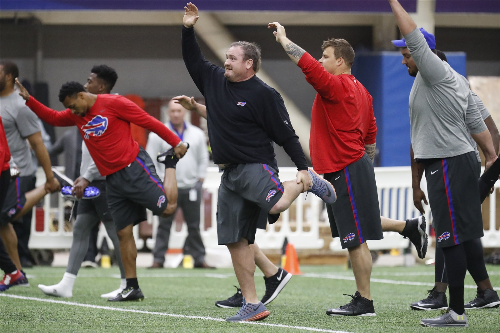 The Bills will begin organized team activities Tuesday at One Bills Drive. (Harry Scull Jr./Buffalo News)