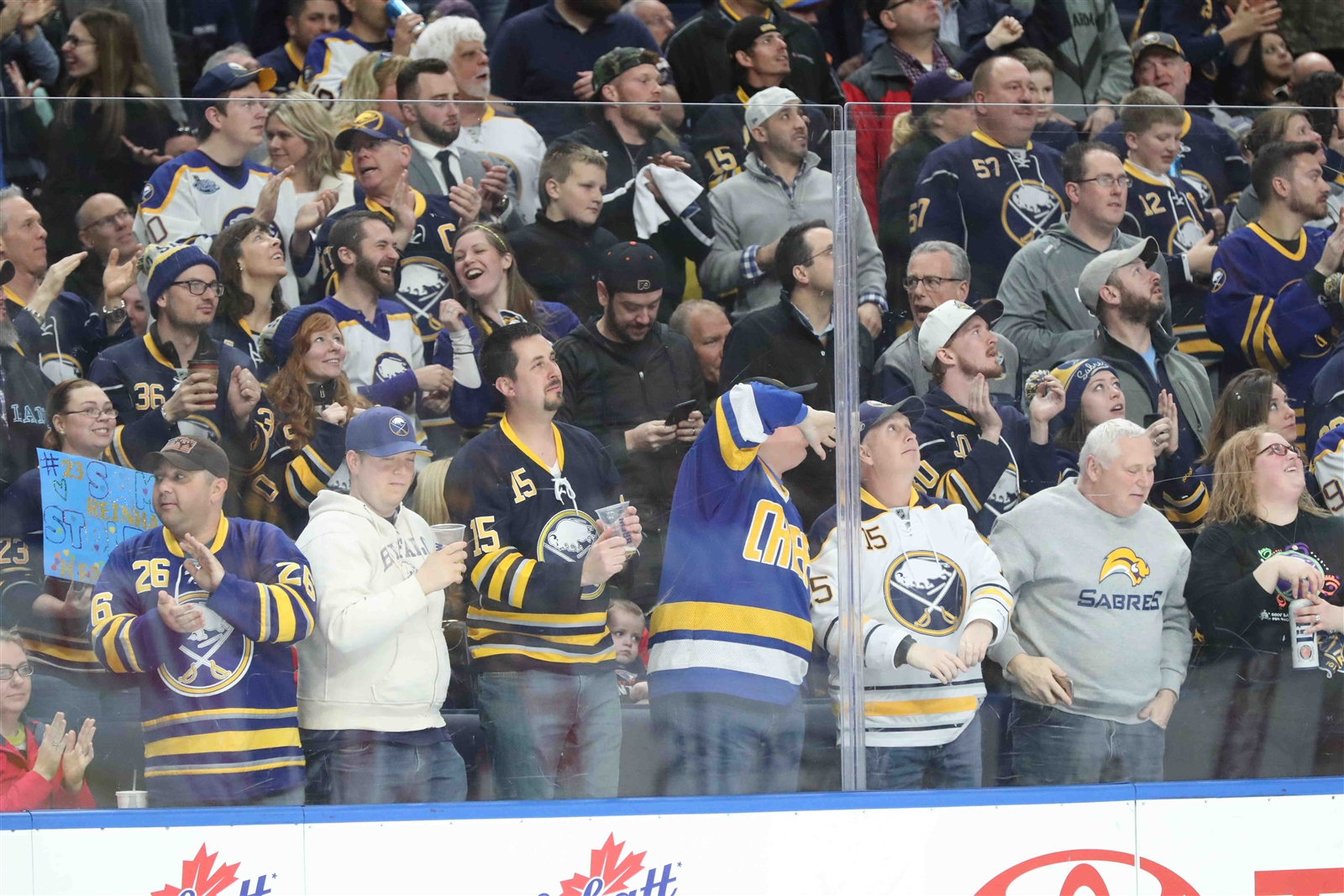 Sabres fans can win an ultimate game experience. (James P. McCoy/Buffalo News file photo)