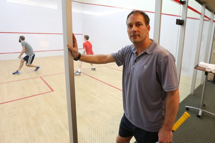 New Tennis & Squash Club head pro already having an impact