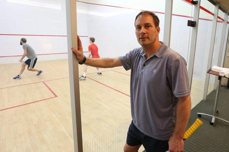 New Tennis & Squash Club head pro already having an impact