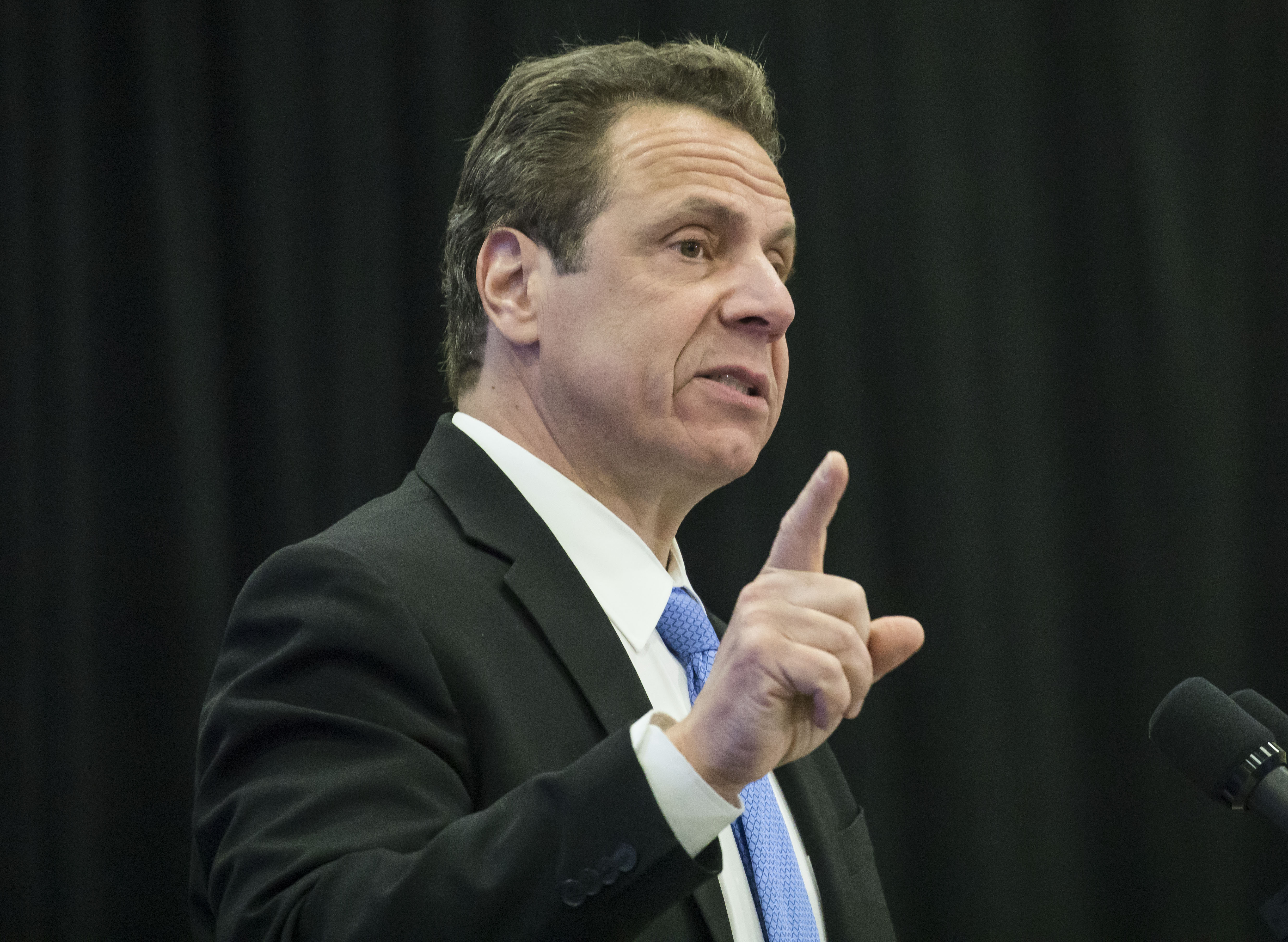 Gov. Andrew M. Cuomo should make ethics reform a priority as he deals with the conviction of a former aide during his re-election year.  (Derek Gee/Buffalo News file photo)