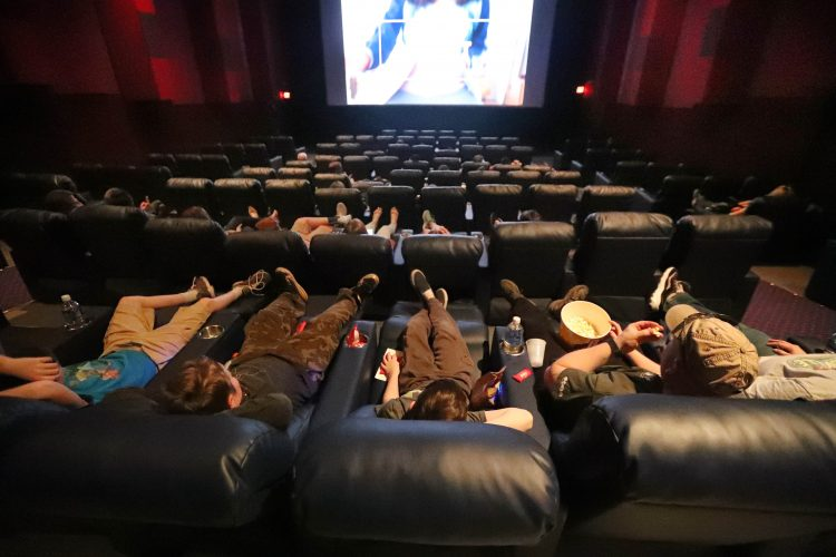 Movie theaters entice patrons with new seating, concessions