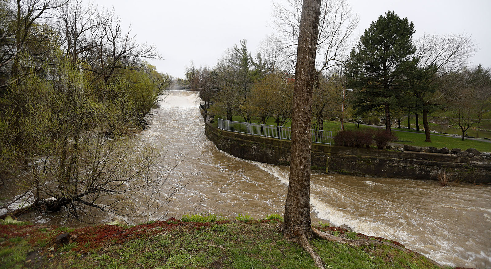 It's unlikely our soil will stay so wet later in spring and into summer, but there remains a good deal of uncertainty about precipitation trends. (Mark Mulville/News file photo)