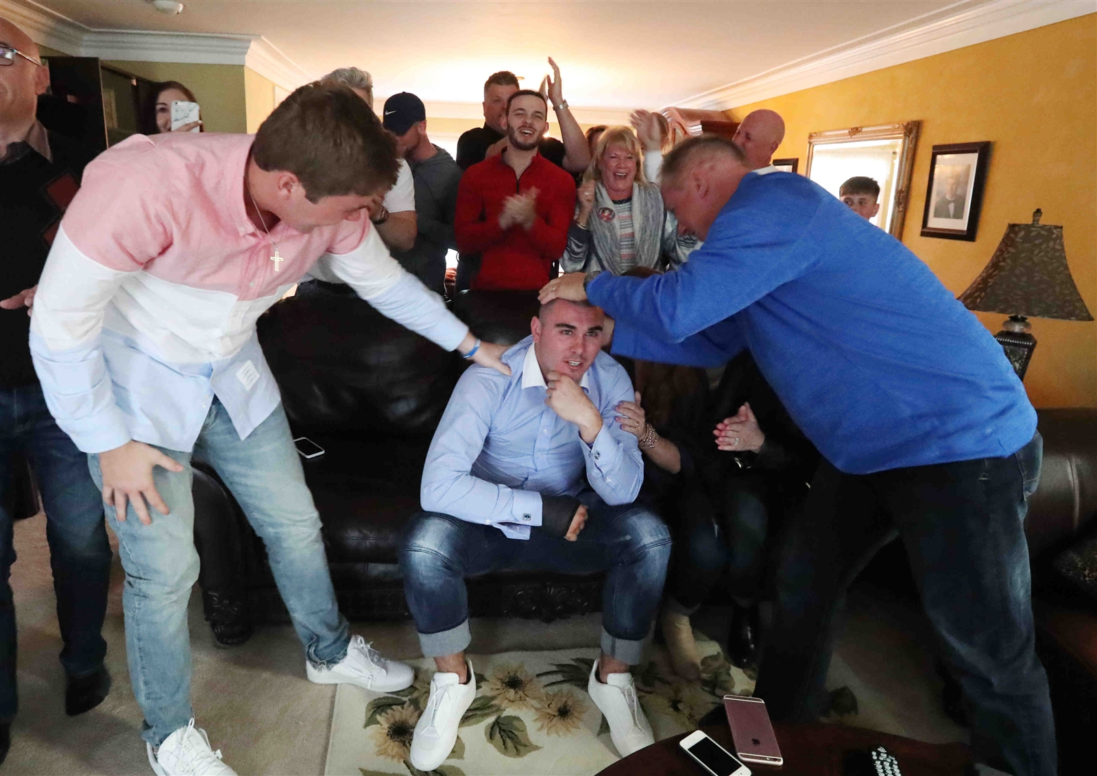 Inside Chad Kelly's anxious NFL Draft experience, right down to the very last pick