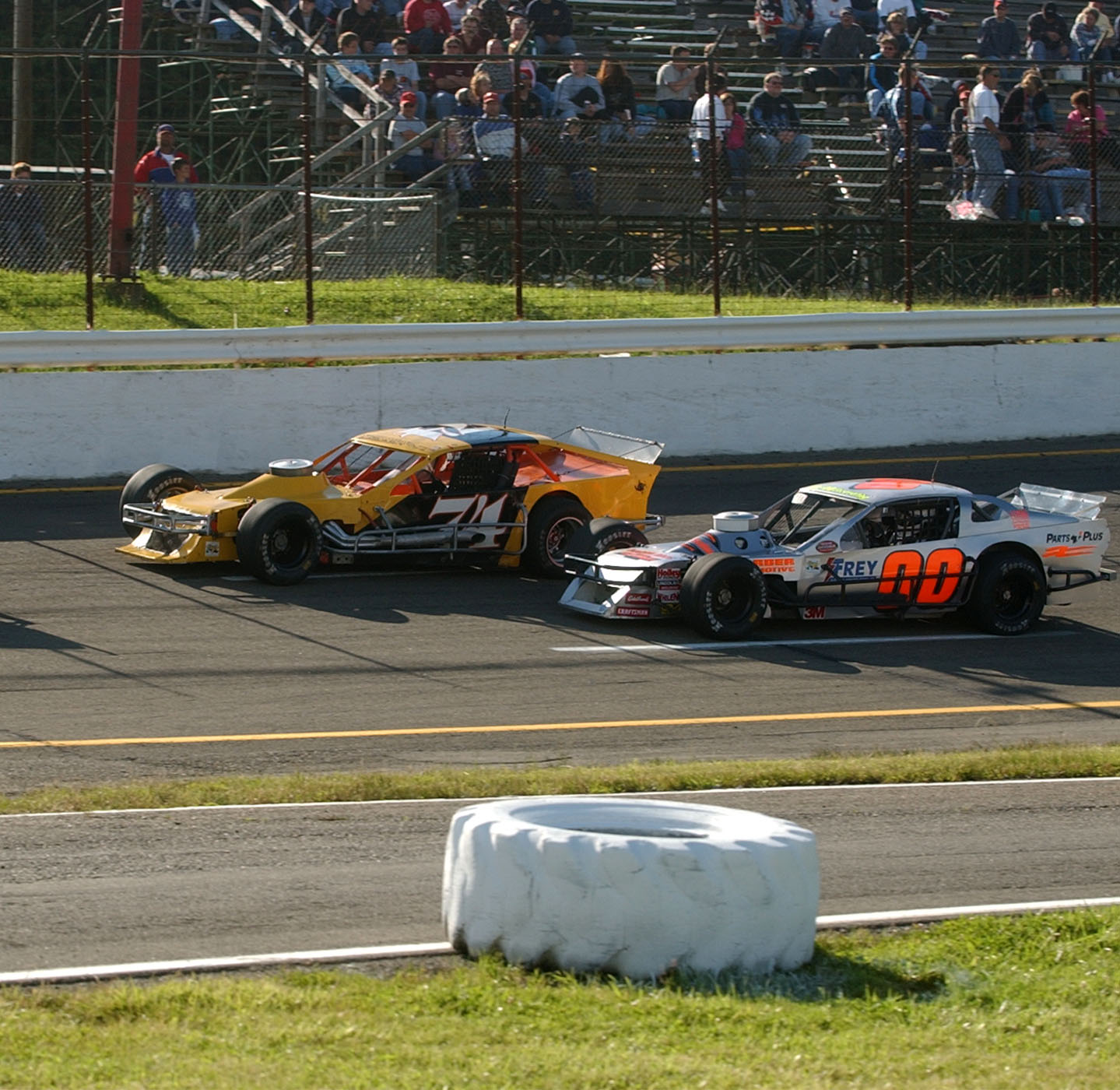 From the archives: The Busch North series visits Holland Speedway in 2004. (John Hickey/Buffalo News)