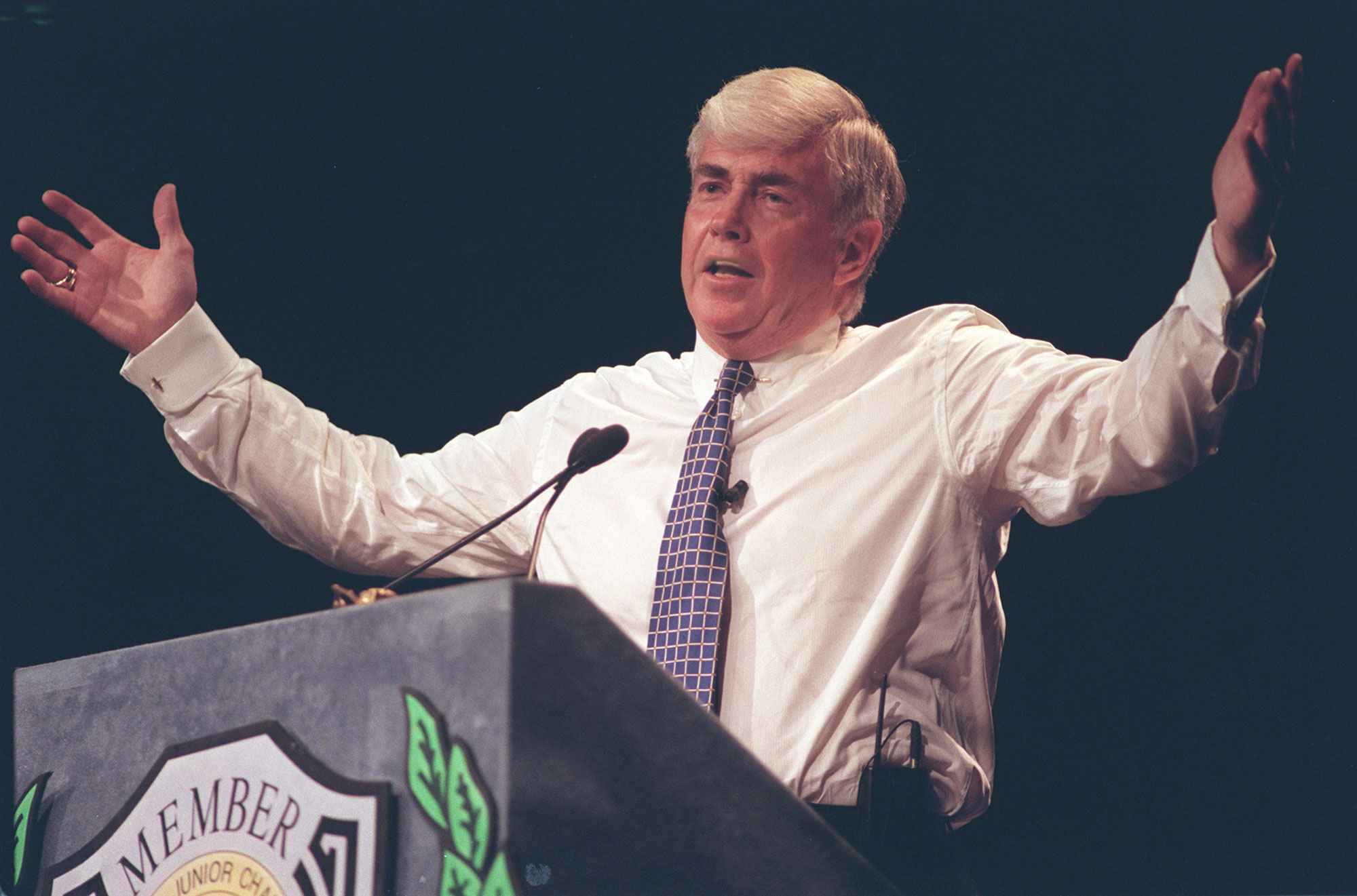 Tax plans of President Trump and former Congressmanj Jack Kemp, above, have many differences. One is that Kemp's revolutionary tax plan became law. Trump's isn't going anywhere. (News file photo)