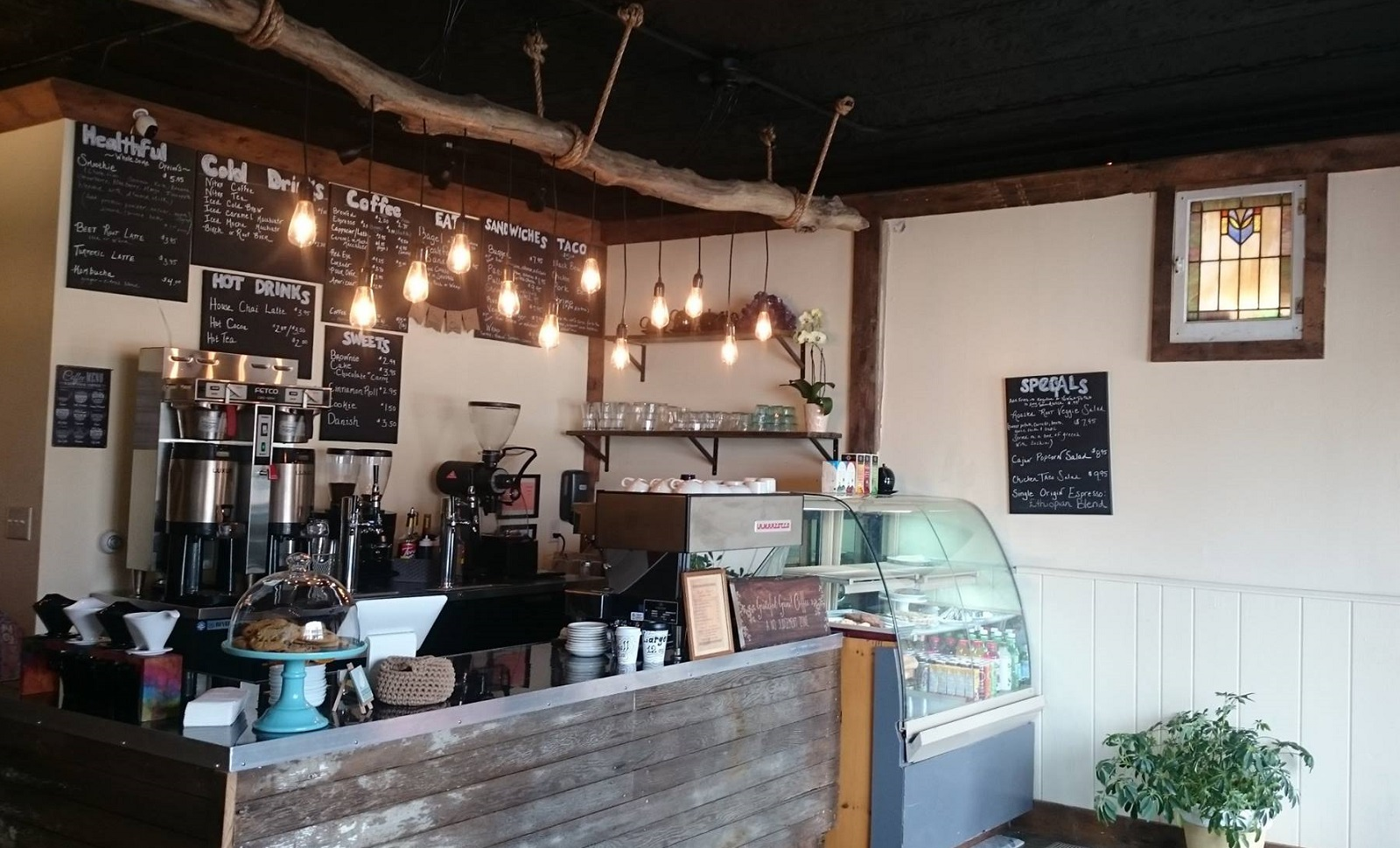 Coffee and espresso shop The Grateful Grind, new to University Heights. (via Grateful Grind)
