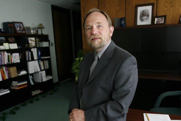 NY college president heard blaming alleged assault victim