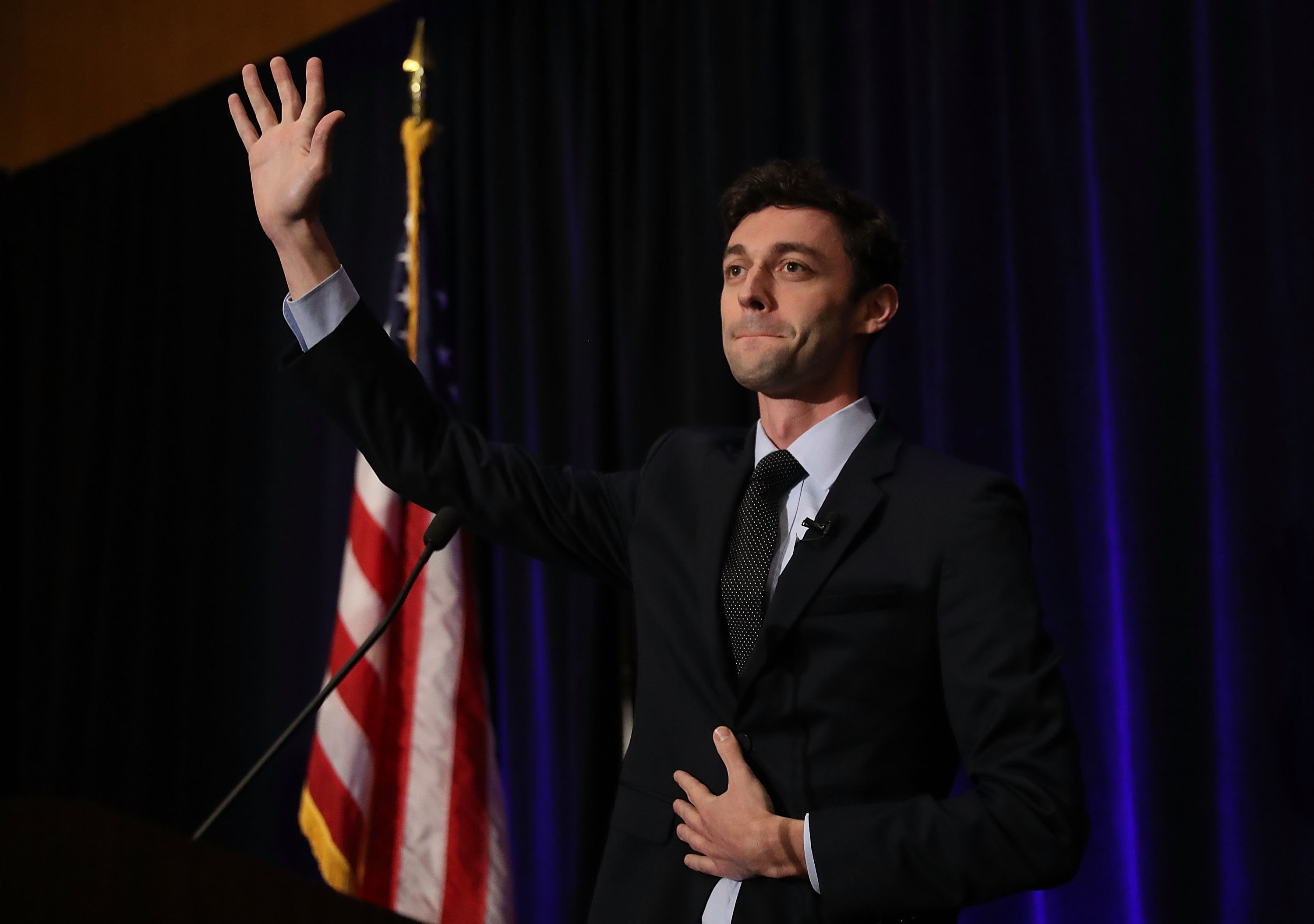 Democratic candidate Jon Ossoff had hoped to pass the 50 percent threshold to win election to former Rep. Tom Price's Congressional seat. (Getty Images)