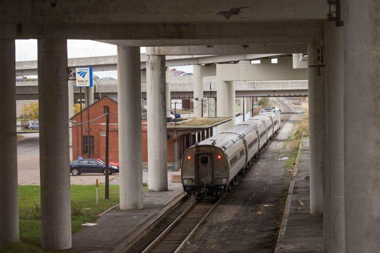 The Amtrak station on Exchange Street in Buffalo.   (Derek Gee/Buffalo News)