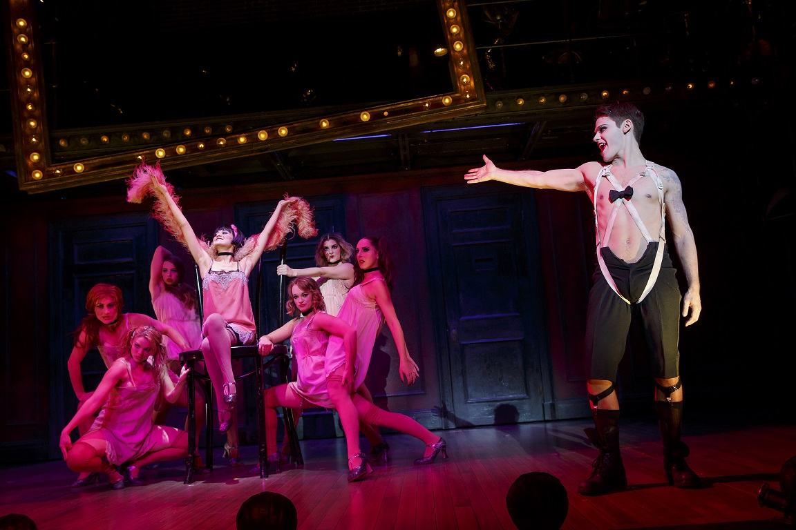 "A touring production of ""Cabaret"" comes to Shea's Performing Arts Center on April 25. (Photo by Joan Marcus.)"