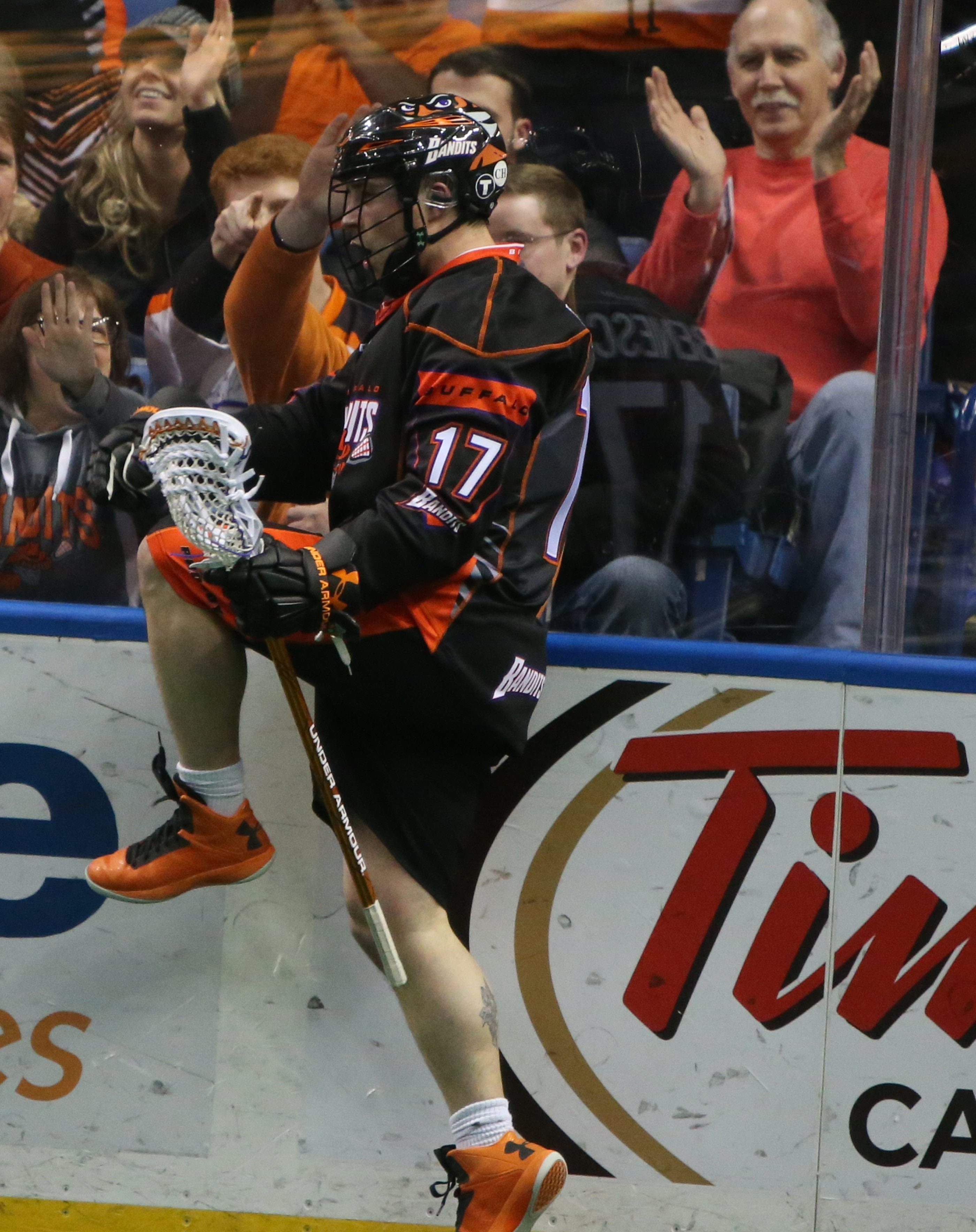 Ryan Benesch had four goals and four assists in the Bandits' loss on Saturday.