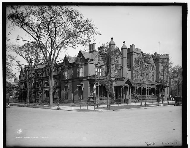 Torn-Down Tuesday: The Millard Fillmore Mansion