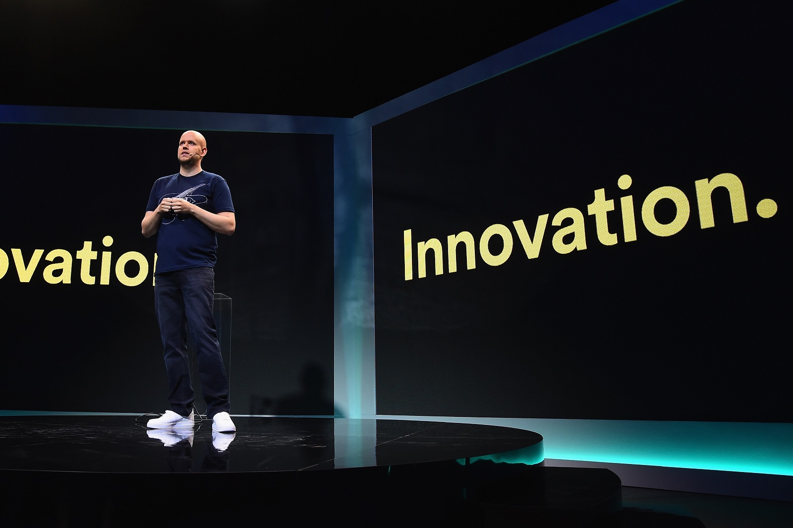 Spotify CEO Daniel Ek.  (Photo by Michael Loccisano/Getty Images for Spotify)