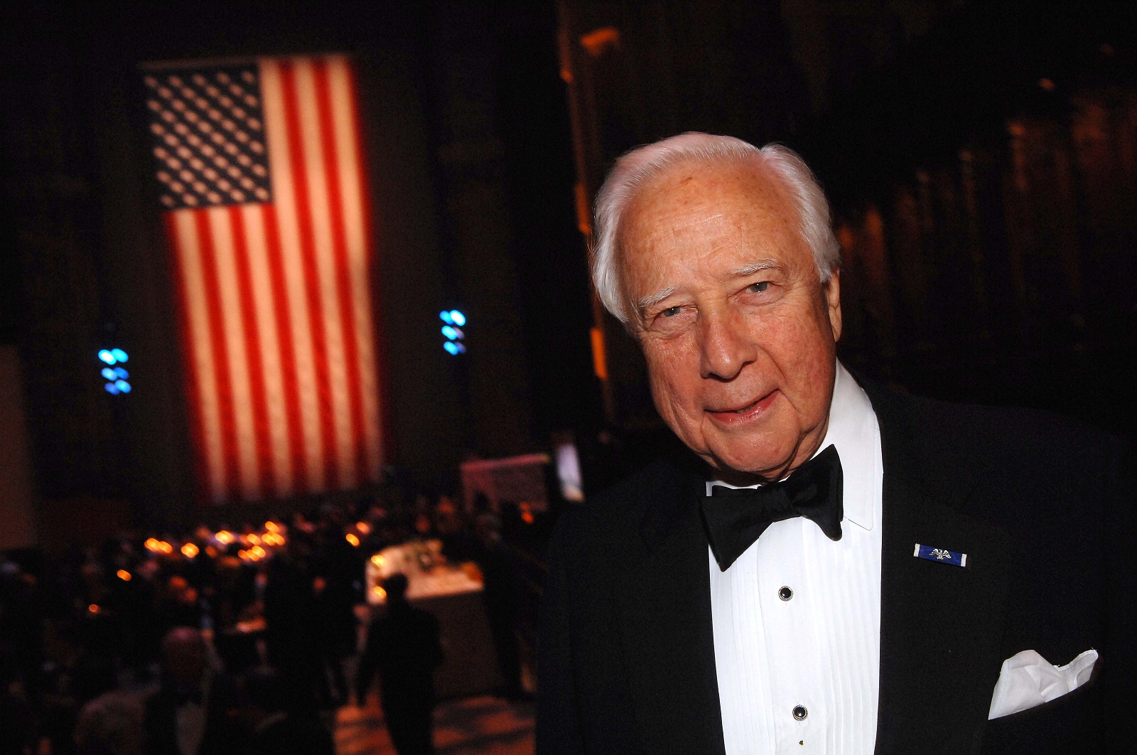 David McCullough poses for a picture at the History Makers Gala at the Cathedral of St. John the Divine in 2007 in New York City. (Brad Barket/Getty Images for New York Historical Society)