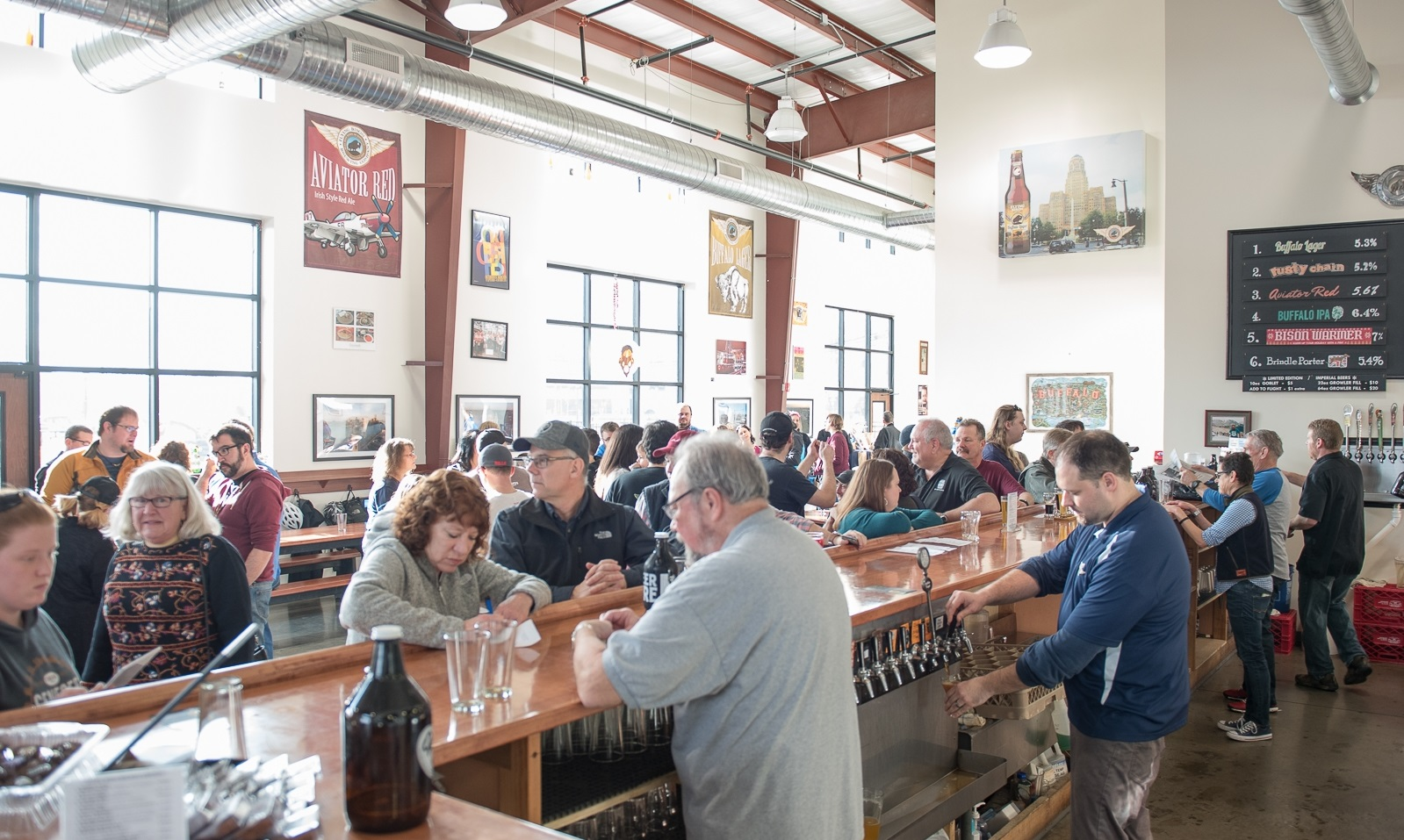 Larkinville's Flying Bison Brewing will host Pils, Pierogi and Polka on April 15. (Matt Weinberg/Special to The News)
