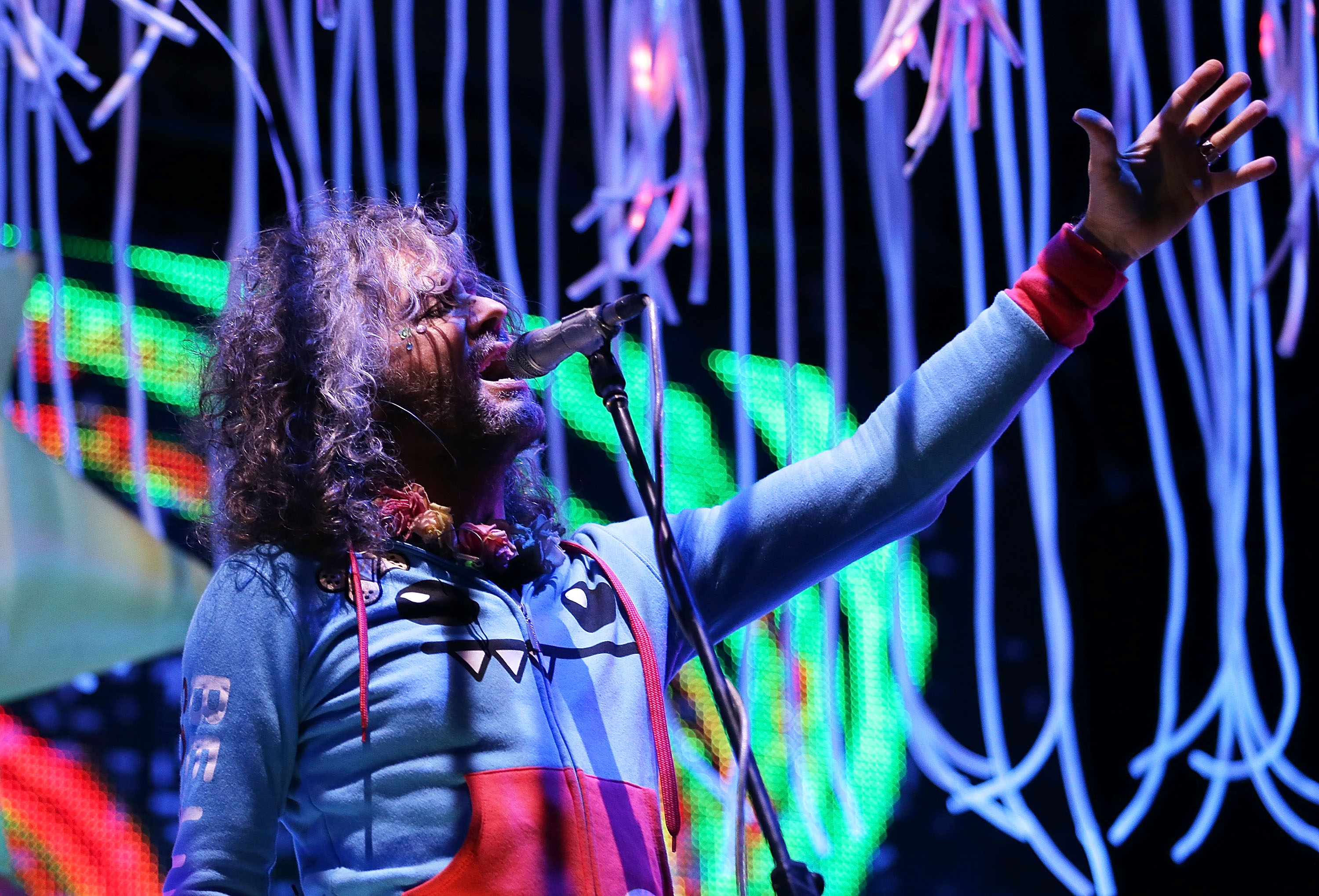 The Flaming Lips will perform at the Rapids Theatre.  (Getty Images)