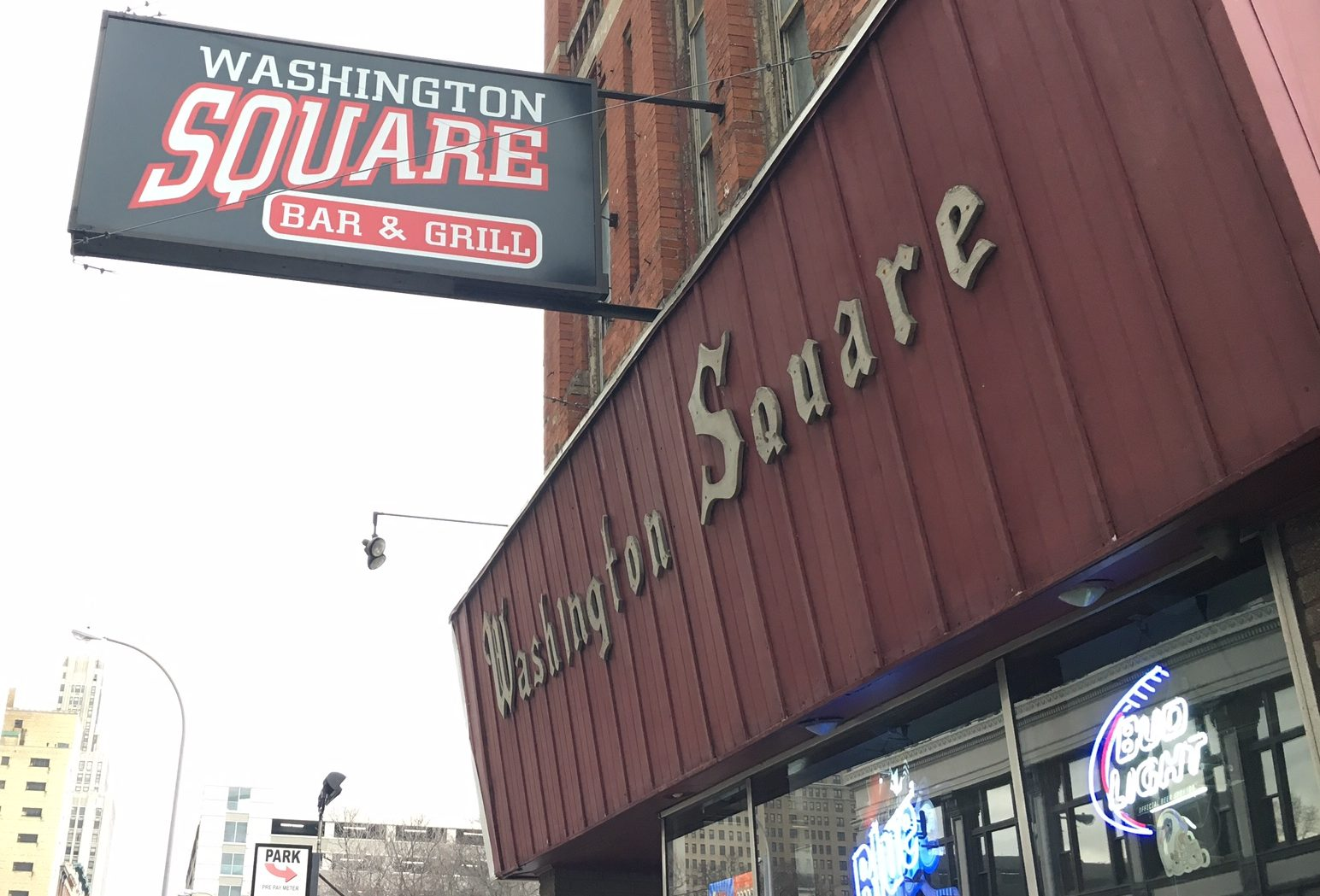 Buffalo's Washington Square continues to be a classic downtown sports stop just steps away from Coca-Cola Field.