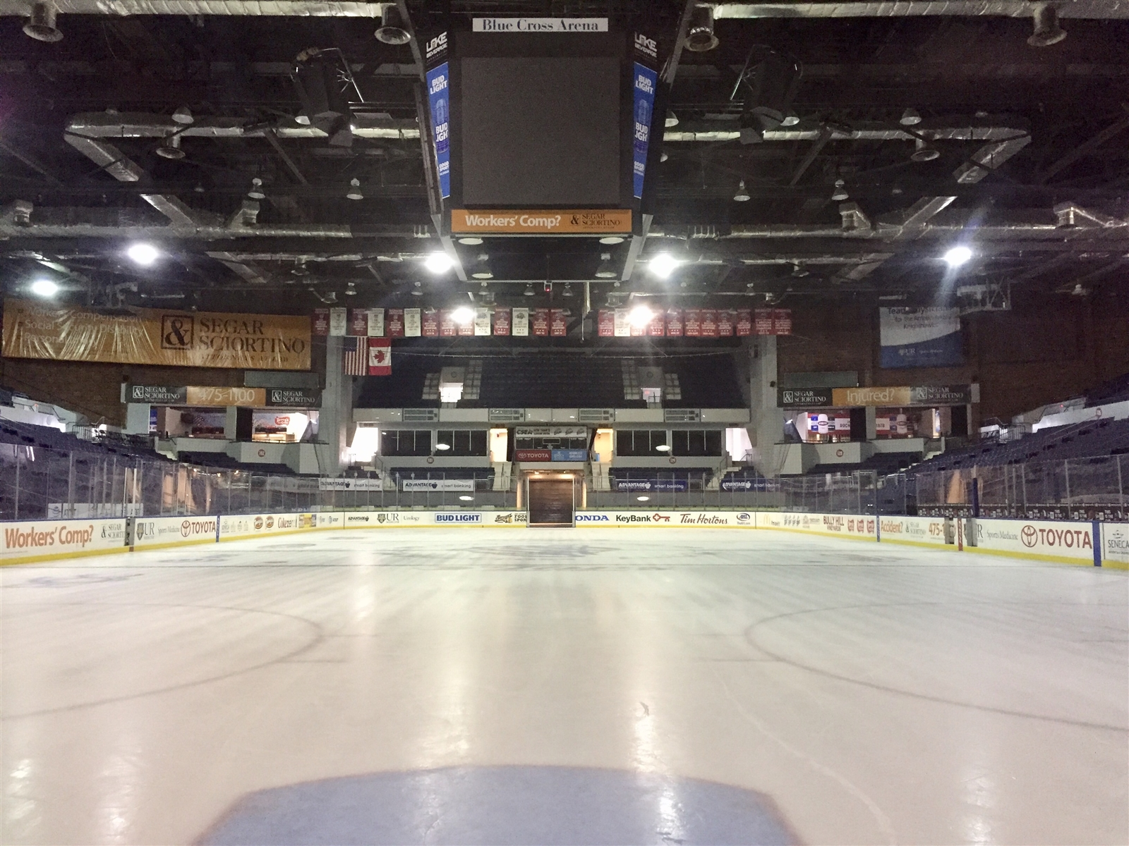 Rochester's arena needs work, and the Sabres want substantial say in what gets fixed. (John Vogl/Buffalo News)