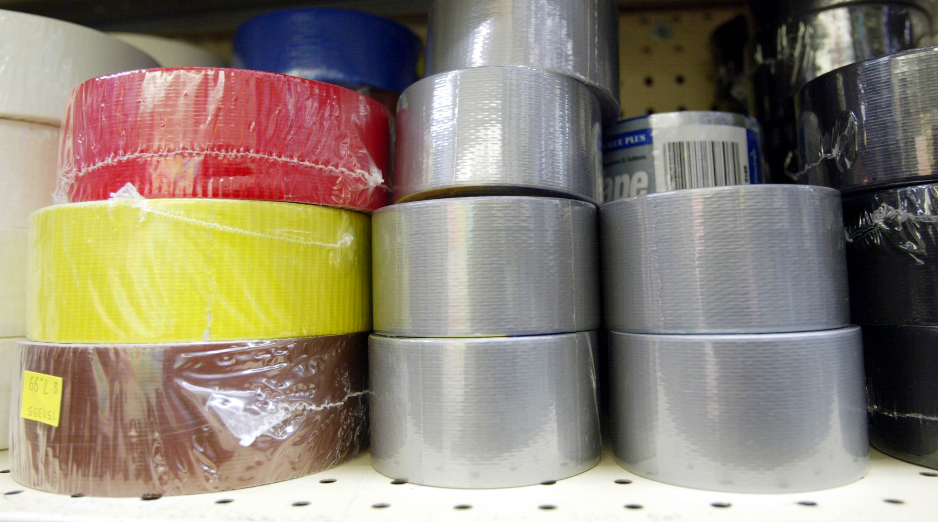 Buying inexpensive duct tape didn't pay off for one reader. (Photo by Mario Tama/Getty Images)