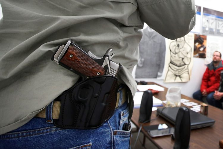 Should out-of-state gun owners be allowed to bring concealed weapons to N.Y.?