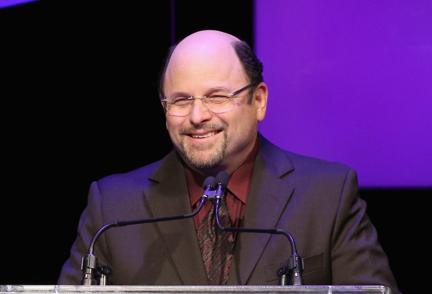 """""""Seinfeld"""" character George Costanza, played by Jason Alexander (pictured), infrequently adopted the pseudonym Art Vandelay to deceive unwitting guest characters on the show. (Getty Images)"""