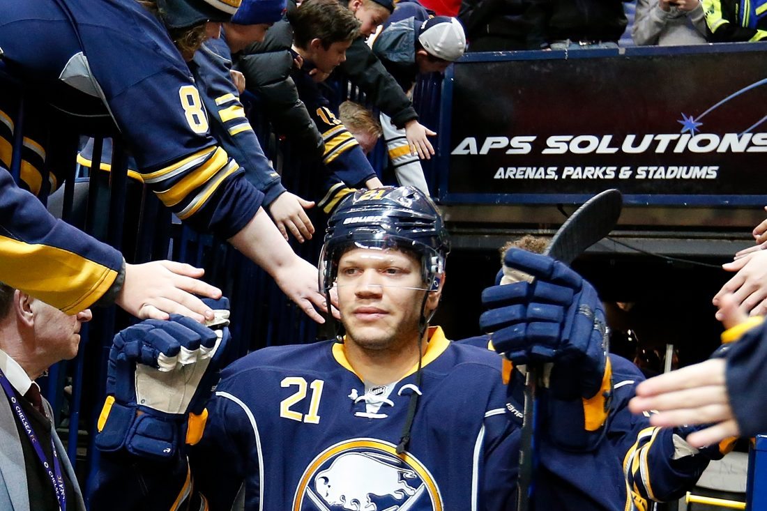 Sabres' Kyle Okposo In Intensive Care With Undisclosed Illness: Report