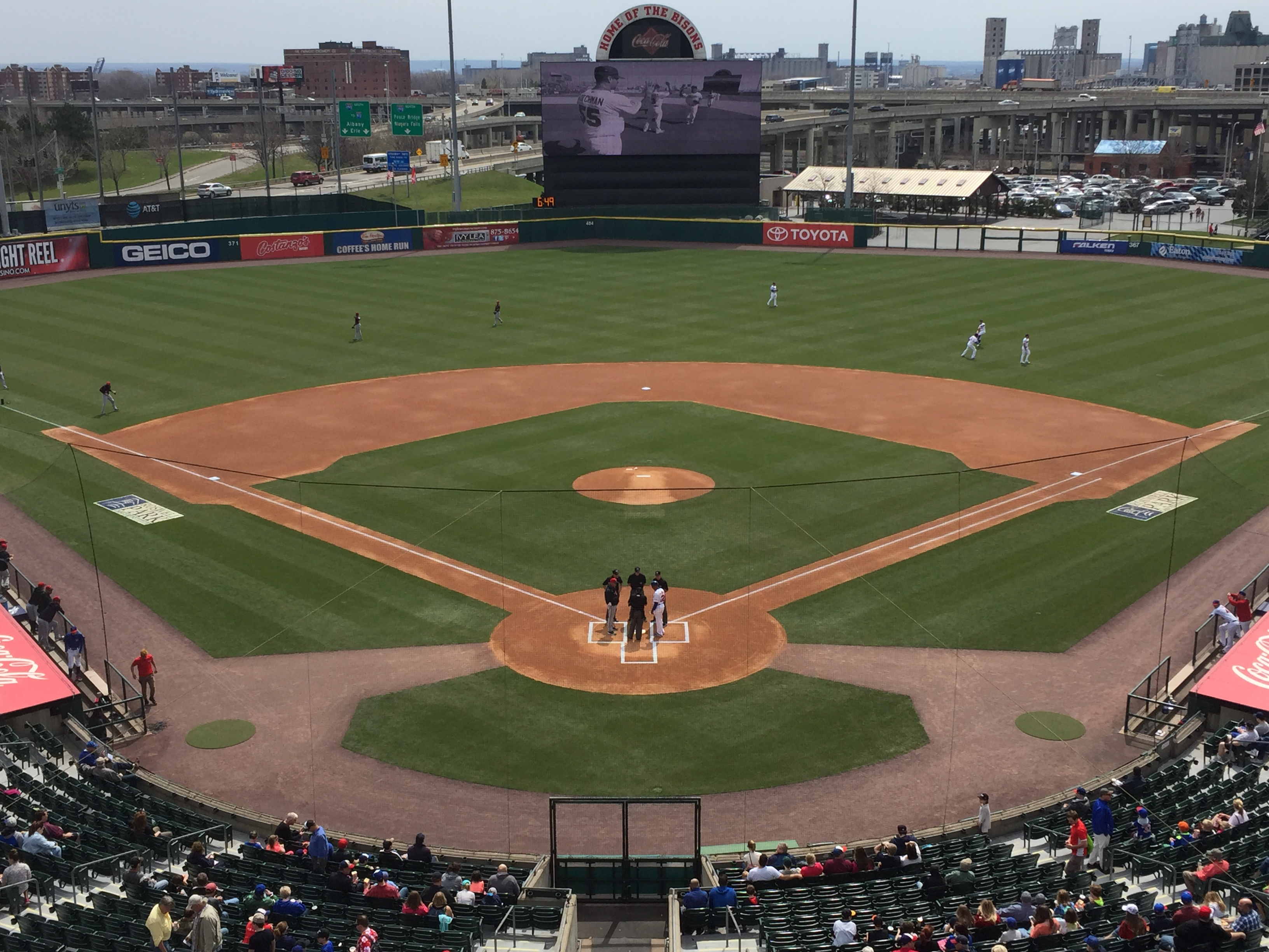 Quick Hits: Bisons 5, Indianapolis 4  (10 innings)