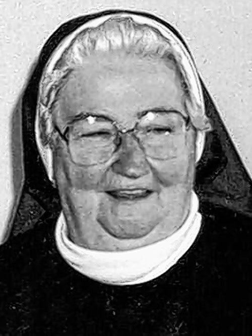 REV. SISTER RITA JACQUELINE DUGGER,