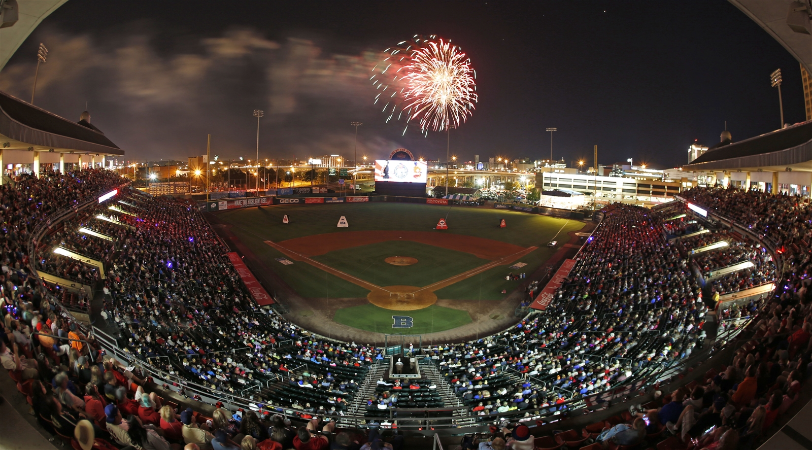 Fans watch fireworks following the annual July 3 BPO concert (Harry Scull Jr./Buffalo News file photo).
