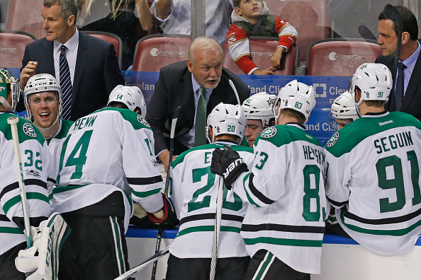 Lindy Ruff took Dallas to the playoffs twice in four seasons (Getty Images).