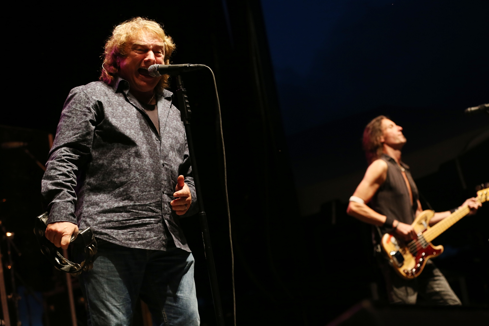 Former Foreigner frontman Lou Gramm will headline 'A Night of Symphonic Rock' on April 28 inside the Seneca Niagara Events Center. (Photo by Sharon Cantillon/Buffalo News file photo)
