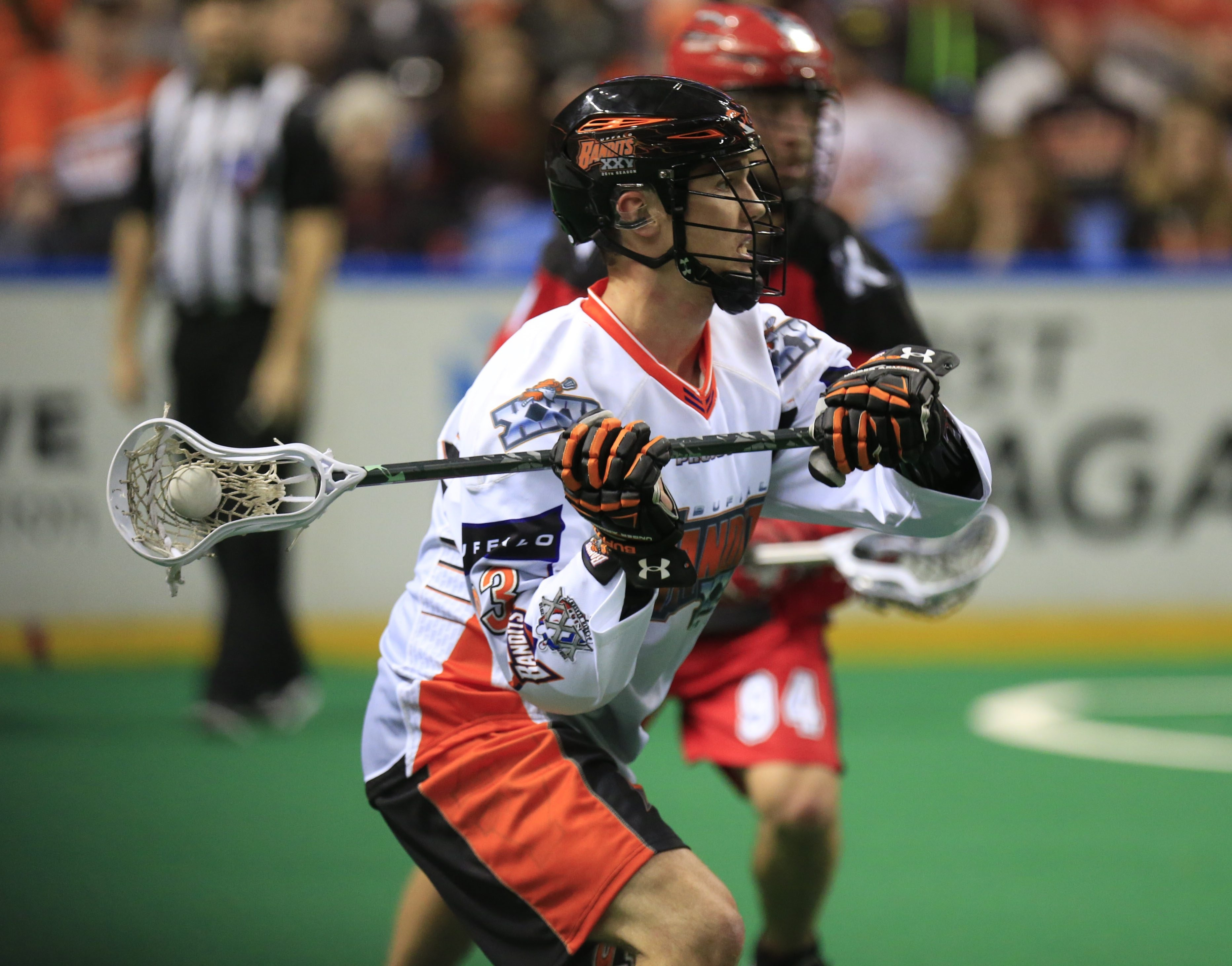 Anthony Malcom has had a difficult season with the Bandits because of injuries. (Buffalo News file photo)