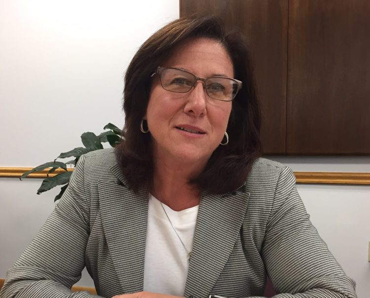 Evans Supervisor Mary K. Hosler has spent the past year working to improve Evans finances. (Barbara O'Brien/Buffalo News)