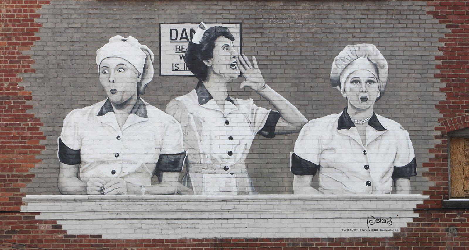 Jamestown still celebrates Lucille Ball. (Sharon Cantillon/News file photo)