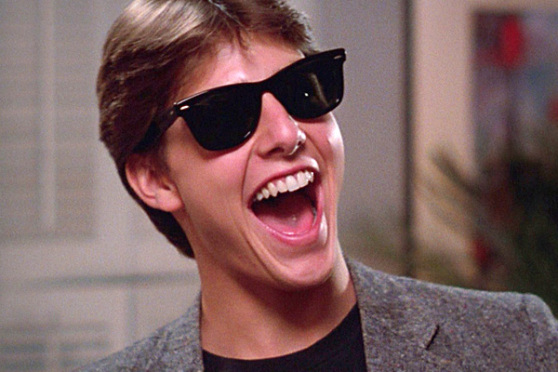 'Risky Business' starring Tom Cruise will be shown at the Riviera Theatre.