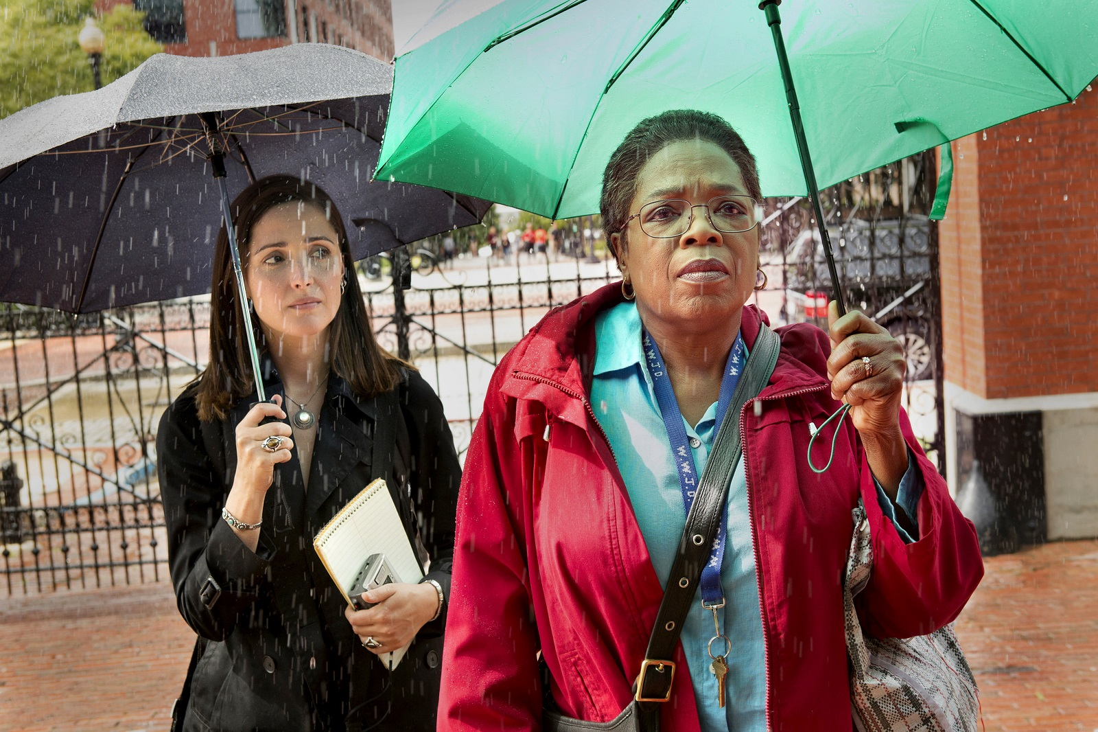 "Rose Byrne and Oprah Winfrey star in HBO's ""The Immortal Life of Henrietta Lacks,"" which airs on HBO on April 22. (Quantrell Colbert, HBO)"